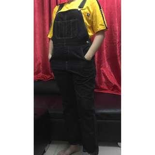Black Denim Overalls/Jumpsuit