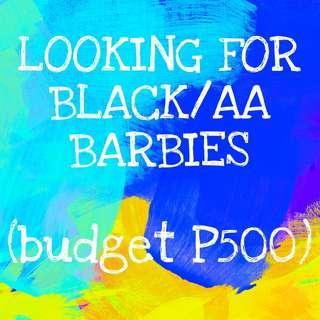 LF: BLACK/AA BARBIES