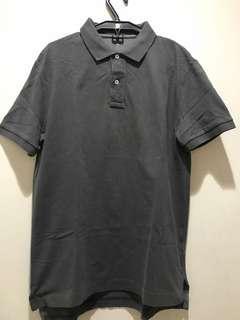 Gap Gray Polo Shirt
