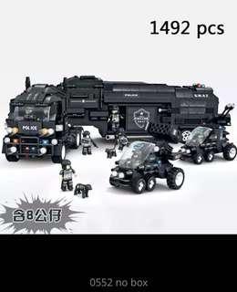 Swat Police Lego
