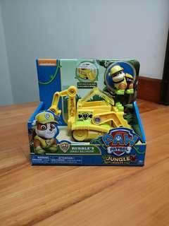 Paw patrol nicklelodeon rubble jungle bulldozer
