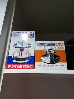 Tamiya paint stand and model holder