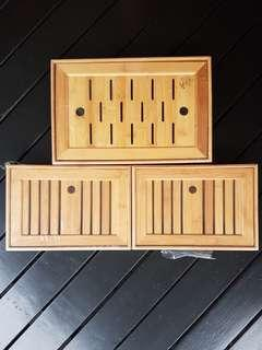 🚚 Bamboo Tea Tray  Kungfu Chinese Tea