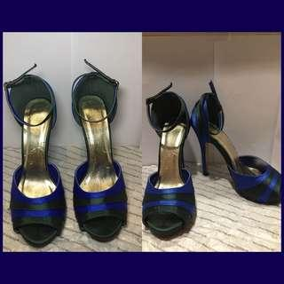 Prom heels prom shoes blue heels