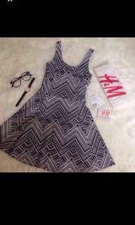 Tribal dress H&M #onlinesale