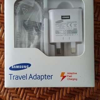 Samsung Charger, UK 3 Pins