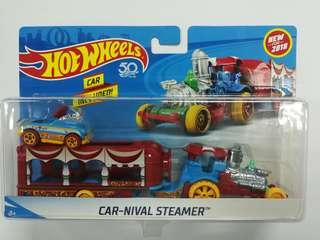 Hot Wheels Car-Nival Steamer (with Pedal Driver)