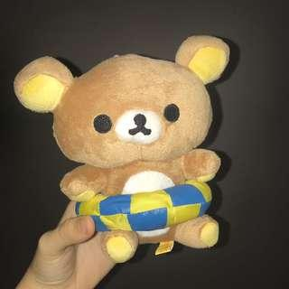 Rilakkuma & Beach Float Soft Toy