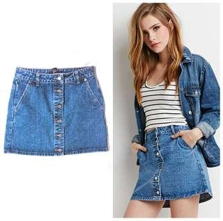 F21 Denim Skirt (Small)