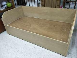 Custom made Daybed / Children bed with barrier