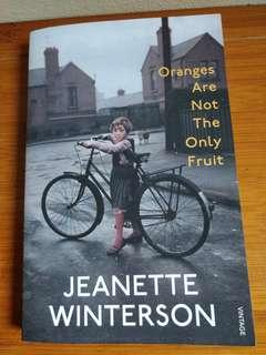 Oranges are not the only fruit Jeanette Winterson