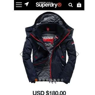 Superdry Wind Yatcher 100% new