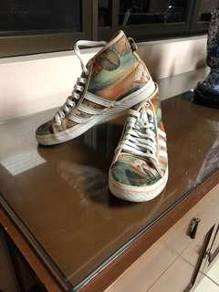 Auth Adidas special edition highcut shoes size 7
