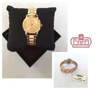 COACH Grand Rose Gold-tone Dial Ladies Watch 14502977