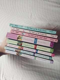 Girl's english books- Goddess girls & Just Grace