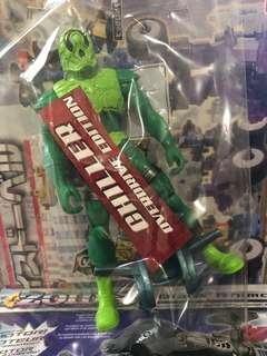 Chiller green evil villain power rangers Operation overdrive