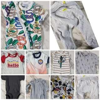 Mothercare/H&M/COTTON ON babies onesie
