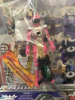 Mission response Pink Ranger Operation Overdrive