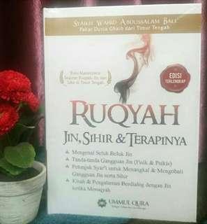 """Buku Islami """"Ruqyah Jin,Sihir dan Terapinya"""""""