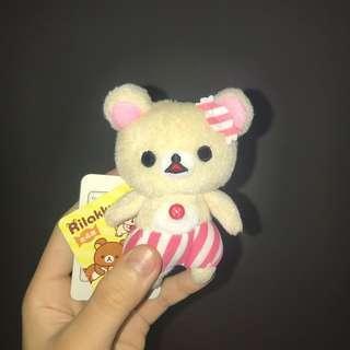 Korilakkuma Pink Pajamas Soft Toy