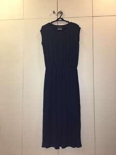 Navy Blue Tango Dress