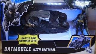 BatMobile Gotham City 1:18
