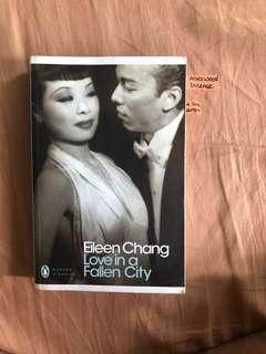 Love in a Fallen City (and other stories) - Eileen Chang