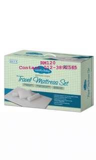 Travel mattress set