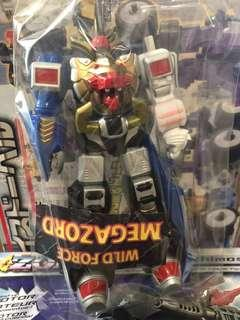 Wild force megazord 6""
