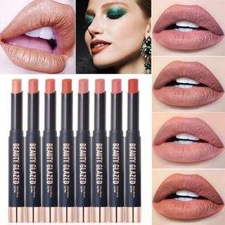 BEAUTY GLAZED Matte Lipstick Waterproof Long Lasting