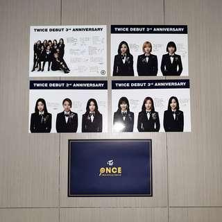Twice 2nd Generation Once Fanclub Postcard Set