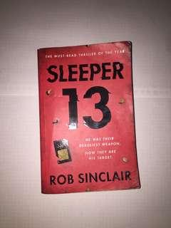Sleeper 13 thriller book