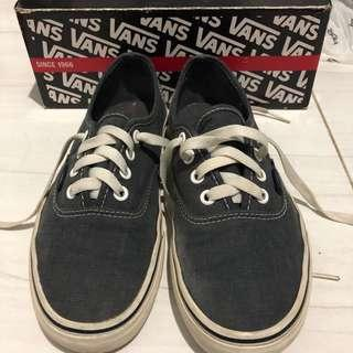 Vans Authentic (Washed) Dark Blue