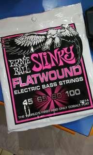 Ernieball Cobalt Flatwound Bass String