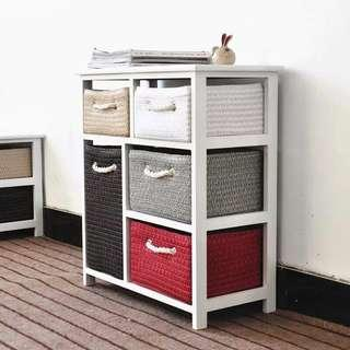 5 Basket Drawers/Clothes Storage