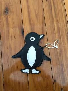 Black Penguin Coin Purse
