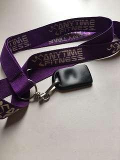Anytime fitness FOB key