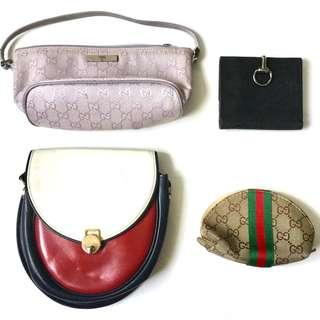 CLEARANCE SALE: Vintage Gucci Bag and Wallet Set