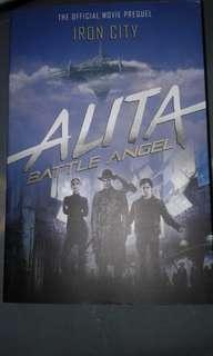 Alita battle angel iron city book prequel to movie