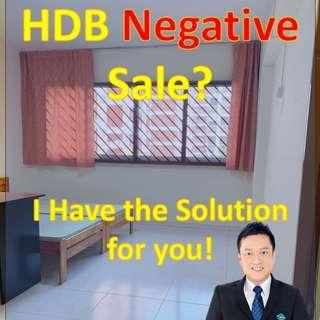 HDB Negative Sale? Allow me to advise you correctly!