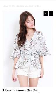 🚚 INSTOCK Wrap Kimono Top