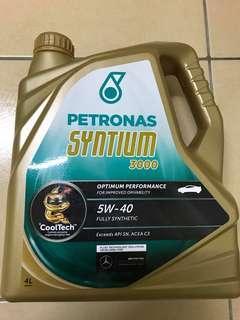 Engine Oil - Petronas Syntium 3000 5W-40 4L