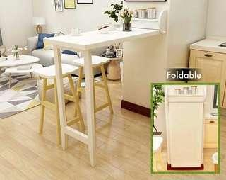 Wall Foldable Bar Table