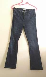 River Island flared jeans M