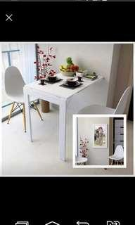 2 seater Foldable Dining Table