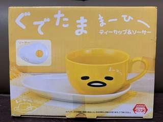 蛋黃哥杯 連可愛太陽蛋 果子碟 套裝