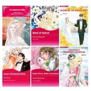 Paket Ebook Komik Harlequin English 64
