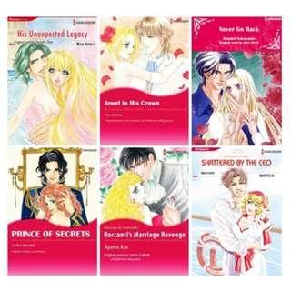 Paket Ebook Komik Harlequin English 65