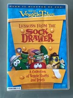 Lessons from the Sock Drawer Veggie Tales