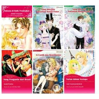 Paket Ebook Komik Harlequin Terjemahan 65